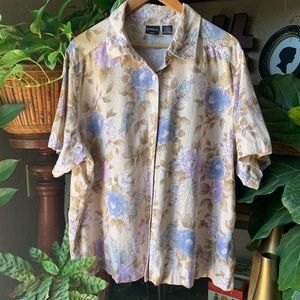 Erika floral blouse